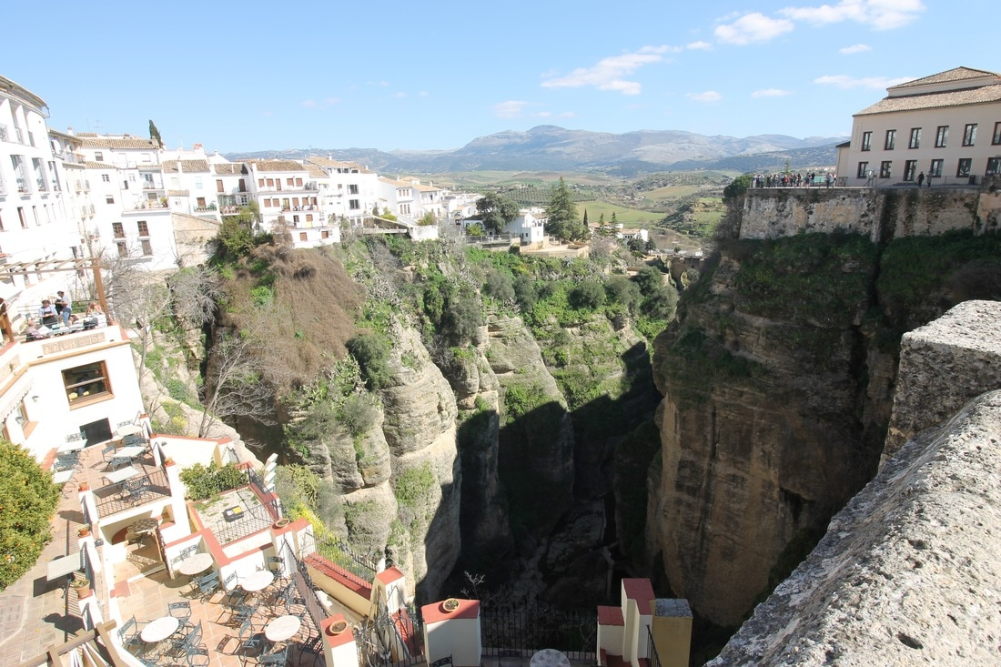 Picture of the El Tajo gorge in Ronda