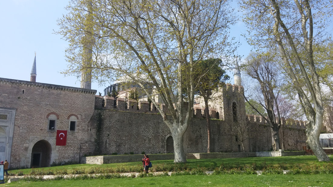 Picture of Topkapi Palace and Museum.